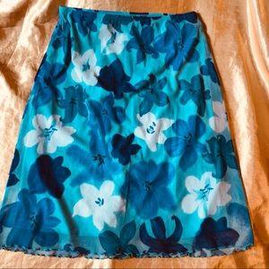 Dresses & Skirts - Vintage Floral Midi Skirt